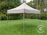 Pop up gazebo FleXtents PRO 3x3 m Latte, incl. 4 sidewalls - 15