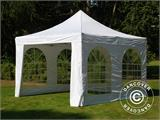 Vouwtent/Easy up tent FleXtents Xtreme 50 Vintage Style 4x4m Wit, inkl. 4 Zijwanden - 2