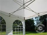 Vouwtent/Easy up tent FleXtents Xtreme 50 Vintage Style 4x4m Wit, inkl. 4 Zijwanden - 10