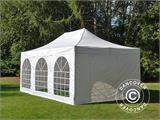 Pop up gazebo FleXtents PRO Vintage Style 4x6 m White, incl. 8 sidewalls - 1