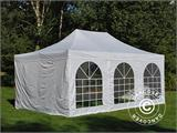Pop up gazebo FleXtents PRO Vintage Style 4x6 m White, incl. 8 sidewalls - 4