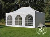 Pop up gazebo FleXtents PRO Vintage Style 4x6 m White, incl. 8 sidewalls - 5