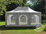 Pop up gazebo FleXtents PRO Vintage Style 4x6 m White, incl. 8 sidewalls - 6