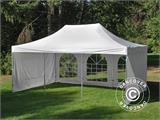 Pop up gazebo FleXtents PRO Vintage Style 4x6 m White, incl. 8 sidewalls - 9