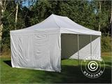 Pop up gazebo FleXtents PRO Vintage Style 4x6 m White, incl. 8 sidewalls - 11