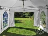 Pop up gazebo FleXtents PRO Vintage Style 4x6 m White, incl. 8 sidewalls - 14