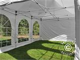 Pop up gazebo FleXtents PRO Vintage Style 4x6 m White, incl. 8 sidewalls - 17