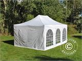 Pop up gazebo FleXtents PRO Vintage Style 4x6 m White, incl. 8 sidewalls - 26