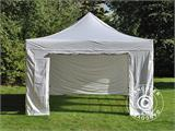 Pop up gazebo FleXtents PRO Vintage Style 4x6 m White, incl. 8 sidewalls - 27