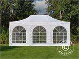 Pop up gazebo FleXtents PRO Vintage Style 4x6 m White, incl. 8 sidewalls - 29
