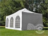 Pop up gazebo FleXtents PRO Vintage Style 4x6 m White, incl. 8 sidewalls - 31