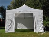 Carpa plegable FleXtents PRO Vintage Style 4x8m Blanco, incl. 6 lados - 8
