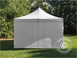 Carpa plegable FleXtents PRO Vintage Style 4x8m Blanco, incl. 6 lados - 14