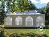 Carpa plegable FleXtents PRO Vintage Style 4x8m Blanco, incl. 6 lados - 15