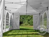 Carpa plegable FleXtents PRO Vintage Style 4x8m Blanco, incl. 6 lados - 19