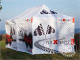 Vouwtent/Easy up tent FleXtents Xtreme 50 Racing 3x6m, Limited edition - 3