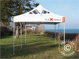 Vouwtent/Easy up tent FleXtents Xtreme 50 Racing 3x6m, Limited edition - 7
