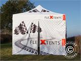 Pop up gazebo FleXtents PRO Xtreme Racing 3x3 m, Limited edition - 4