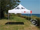 Pop up gazebo FleXtents PRO Xtreme Racing 3x3 m, Limited edition - 6