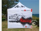 Pop up gazebo FleXtents PRO Xtreme Racing 3x3 m, Limited edition - 7