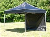Pop up gazebo FleXtents Basic 110, 3x3 m Black, incl. 4 sidewalls - 2