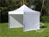 Carpa plegable FleXtents PRO 3x3m Blanco, Incl. 4 lados - 5