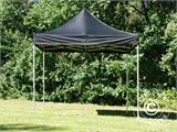 Pop up gazebo FleXtents PRO 3x3 m Black, incl. 4 sidewalls - 19