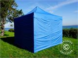 Pop up gazebo FleXtents PRO 3x3 m Blue, incl. 4 sidewalls - 2