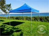 Pop up gazebo FleXtents PRO 3x3 m Blue, incl. 4 sidewalls - 5