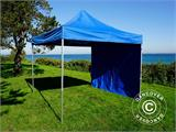 Pop up gazebo FleXtents PRO 3x3 m Blue, incl. 4 sidewalls - 6