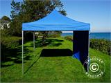 Pop up gazebo FleXtents PRO 3x3 m Blue, incl. 4 sidewalls - 7