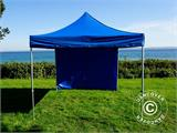 Pop up gazebo FleXtents PRO 3x3 m Blue, incl. 4 sidewalls - 11