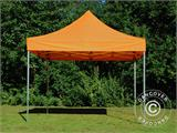 Tente pliante FleXtents PRO 3x3m Orange - 1