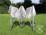 "Pop up gazebo FleXtents PRO ""Peaked"" 3x6 m White - 7"