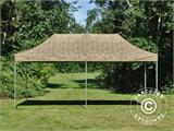 Vouwtent/Easy up tent FleXtents PRO 3x6m Camouflage/Militair - 1