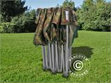 Vouwtent/Easy up tent FleXtents PRO 3x6m Camouflage/Militair - 3