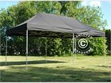 Pop up gazebo FleXtents PRO 3x6m Black, incl. 6 sidewalls - 1