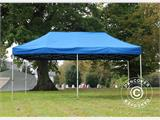 Pop up gazebo FleXtents PRO 3x6 m Blue, incl. 6 sidewalls - 1