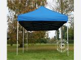 Pop up gazebo FleXtents PRO 3x6 m Blue, incl. 6 sidewalls - 2