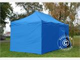 Pop up gazebo FleXtents PRO 3x6 m Blue, incl. 6 sidewalls - 3