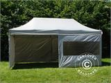 Pop up gazebo FleXtents PRO 3x6 m Silver, incl. 6 sidewalls - 5