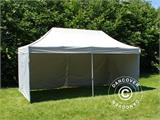 Pop up gazebo FleXtents PRO 3x6 m Silver, incl. 6 sidewalls - 7