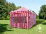 Pop up gazebo FleXtents PRO 3x6 m Striped, incl. 6 sidewalls - 2