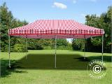 Pop up gazebo FleXtents PRO 3x6 m Striped, incl. 6 sidewalls - 4