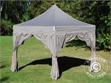 "Foldetelt FleXtents PRO ""Raj"" 3x3m Latte/Orange - 1"