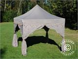 "Foldetelt FleXtents PRO ""Raj"" 3x3m Latte/Orange - 7"