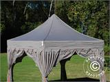 "Foldetelt FleXtents PRO ""Raj"" 3x3m Latte/Orange - 9"
