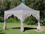 "Foldetelt FleXtents PRO ""Raj"" 3x3m Latte/Orange - 10"