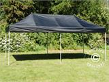 Carpa plegable FleXtents Basic v.2, 3x6m Negro, Incl. 6 lados - 1