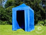 Pop up gazebo FleXtents Basic v.2, 2x2 m Blue, incl. 4 sidewalls - 3